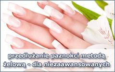 Przedłużanie paznokci metodą żelową dla niezaawansowanych